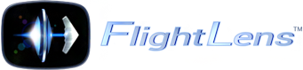 FlightLens logo